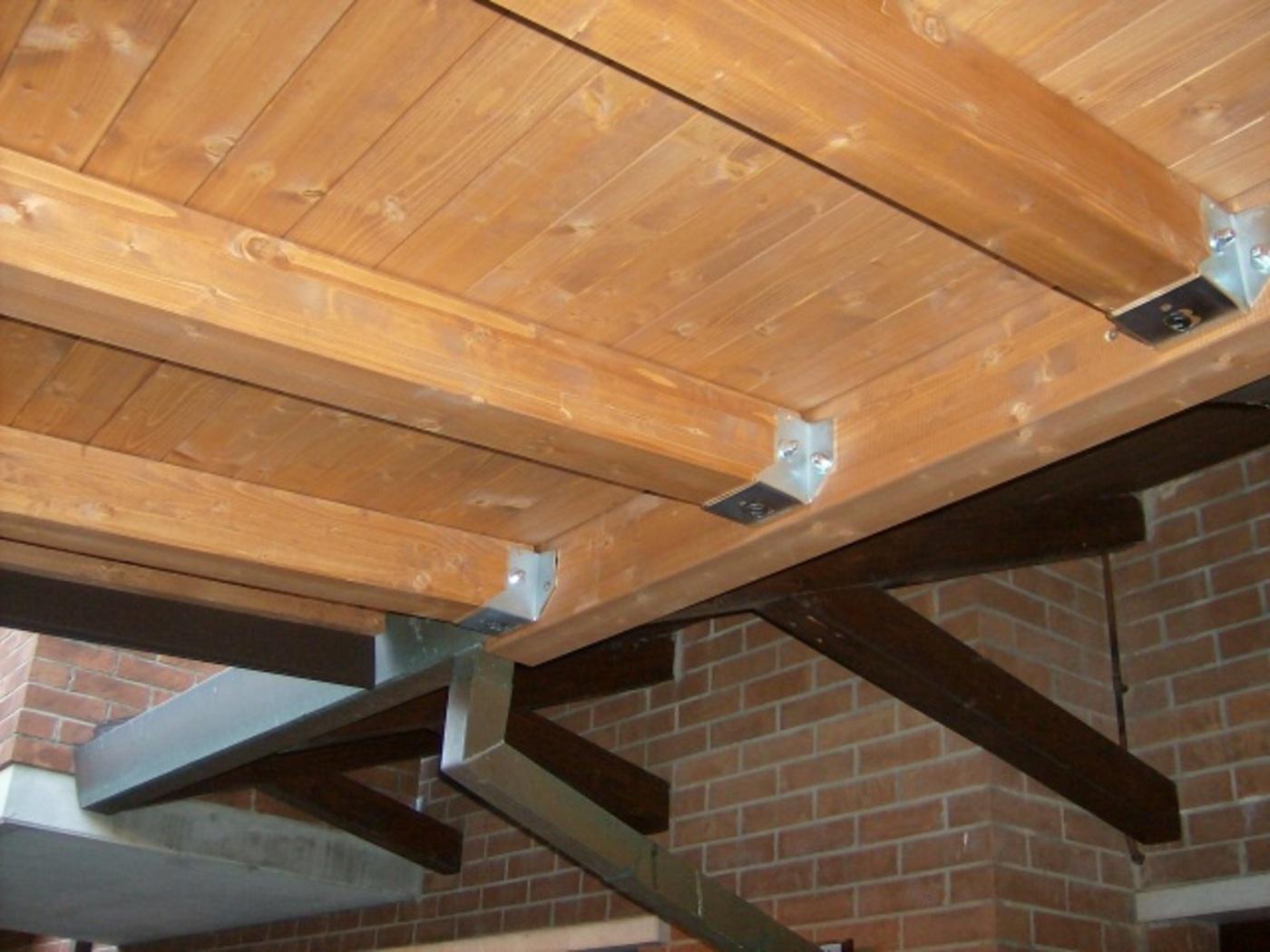 Colori Tetti Legno Lamellare pergolato con tetto in legno | bettini tende